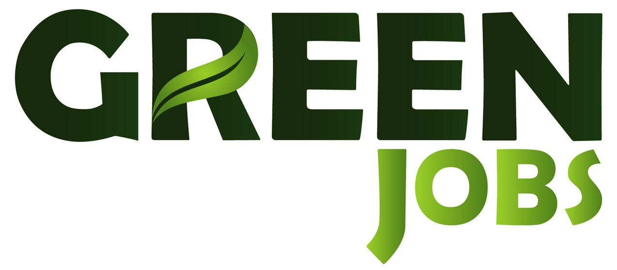 Logo green jobs